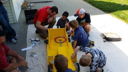 Soap Box Derby Prep